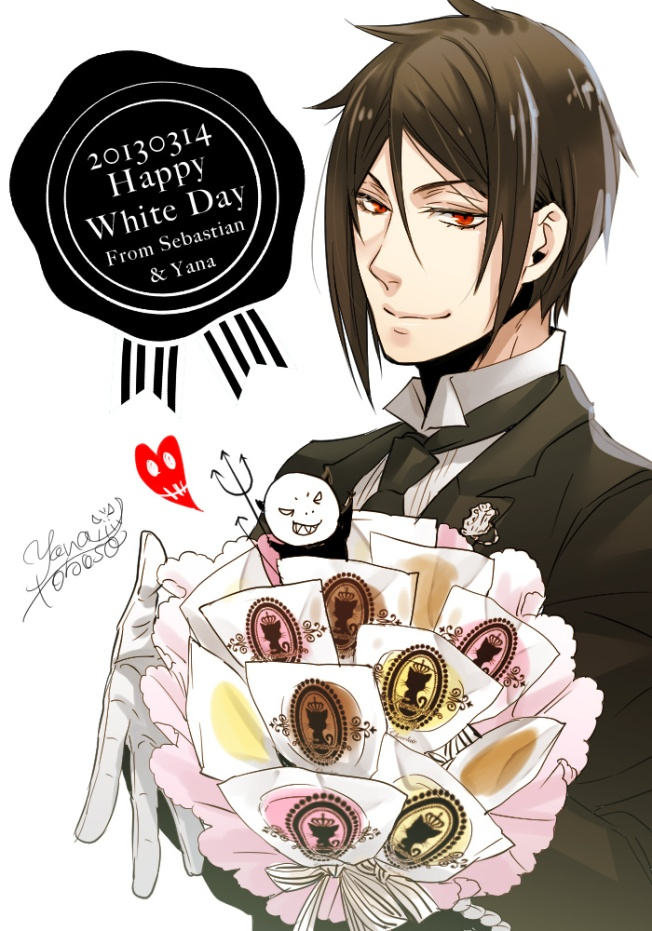 Happy Whiteday 2013 - Sebas